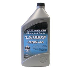 1 Ltr Motoröl SAE 25W-40 4-Takt-Außenborder / Quicksilver / Mercury 8M0086223