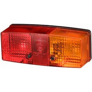 Heckleuchten 2SD 003 184-041 Rückleuchte rechts 12V Lichtscheibe für Anhänger / HELLA