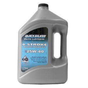 4 Ltr Motoröl SAE 25W-40 4-Takt-Außenborder / Quicksilver / Mercury 8M0086224