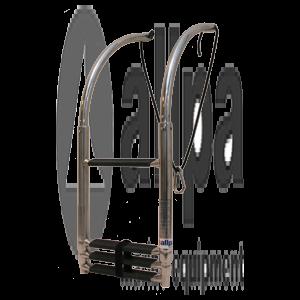 Allpa Teleskopische Schlauchboot Badeleiter NIRO