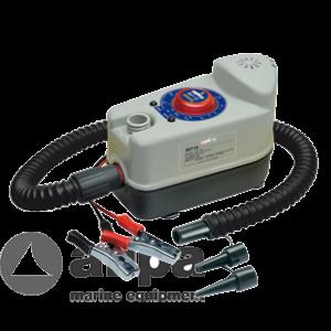 Luftpumpe 12 V Bravo BP ohne Batterie, Batterie-Anschlußsatz und 220 V Ladegerät / Bravo