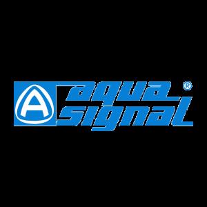 Navigationslicht Backbord 12V Serie 20 weißes Gehäuse / Aqua Signal
