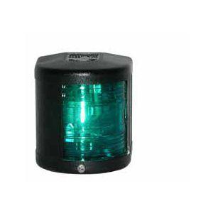 Lichtgehäuse grün für Steuerbordlaterne Farbe Schwarz Adapter für Navigationslaterne Modell 612867 Serie 41 / Aqua Signal