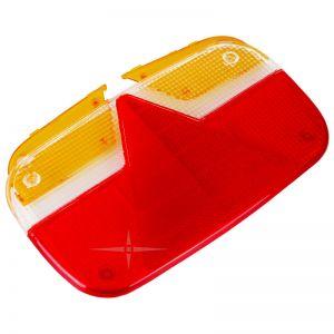 Lichtscheibe Ersatzglas rechts/links für Multipoint 3 III , Rücklicht Rückleuchte mit Dreieck / Aspöck