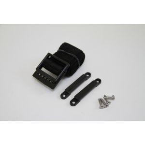 Batteriebefestigung Befestigungsband Gurt mit Haltesteg für Batteriekasten Kraftstoffkanistern