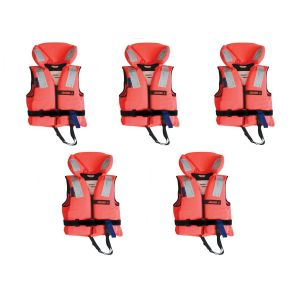 Rettungsweste Familienpaket Lifejacket 150N Set Schwimmweste Familie - verschiedene Größen / Lalizas