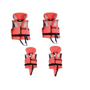 Rettungsweste Familienpaket Lifejacket 100N Set Schwimmweste Familie - verschiedene Größen / Lalizas