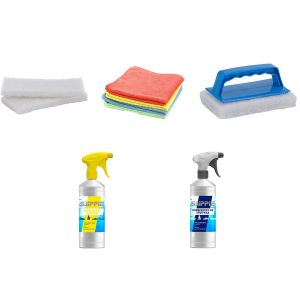 Set Schlauchboot Reinigung und Pflege / Sjippie