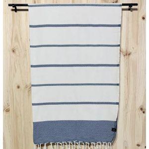 Foutas große Badedecke Formentor aus 100 % Baumwolle 160x240 cm Formentor middle - verschiedene Ausführungen / Cotonway