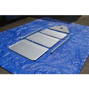 Aluminiumboden (complete kit) für Z-RAY II 500 Schlauchboot Type V 310 Ersatzboden Boden Alu Floor