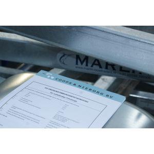 """Ersatzpapiere Ausstellung einer Ersatz-EG-Übereinstimmungsbescheinigung (""""Certificat of Conformity, CoC"""") für Marlin Bootstrailer"""