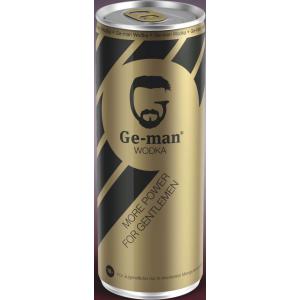 24x Ge-Man Vodka Energiedrink geman mit Vodka inkl. Pfand