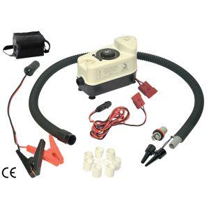 Luftpumpe Bravo BP12 mit Umhängetasche und 3 Meter Kabel elektrisch / Scoprega