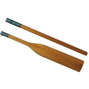 Holzruder Paddel lackiert und teilbar 194 cm Länge