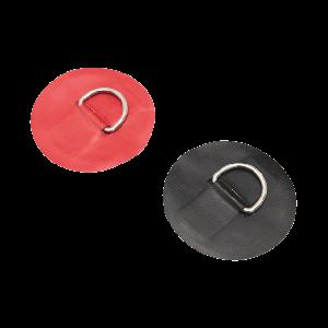 Nirosta D-Ring Beschlag zum Selbstaufkleben - verschiedene Ausführungen / Grabner