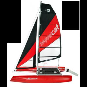 Happy Cat Segelboot Katamaran Luftboot inflatable verschiedene Varianten / Grabner