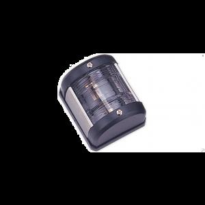 Navigationslicht Hecklicht 135° Weiss 12 Volt Serie 25 Gehäusefarbe schwarz Navigationslampe zur Aufbau Montage / Aqua Signal