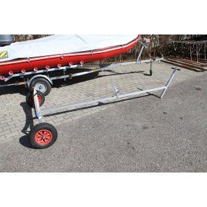 Trolly Handslipwagen Handtrailer Strandwagen zerlegbar mit Gurtauflage für Dinghy Schlauchboot Segeljolle / KALF