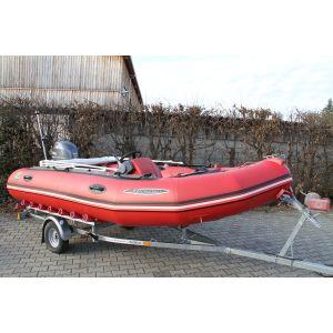 Schlauchboot Zodiac MK2 Futura inkl. Yamaha 40 PS Außenborder und Harbeck Schlauchboottrailer