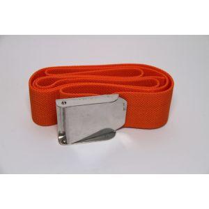 Tauchgurt Gewichtsgürtel Bleigurt Ballastgürtel Orange mit Edelstahlschnalle Unisex / Mares