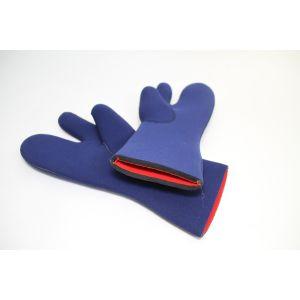 Drei-Fingerhandschuh Tauchhandschuh Neoprenhandschuh aus 7mm Neopren Blau