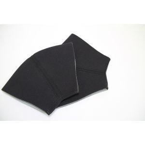 Knieschützer Knieschoner Knie Stulpen aus 5 mm Neopren Schwarz