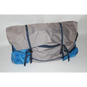 Schlauchboottasche Aufbewahrungstasche Packtasche für Schlauchboot  - 100 x 80 x 18 cm hellblau