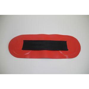 Sitzbretthalter Halterung für Schlauchboote Rot/schwarz 315 x 120 mm WEBBING-BLK/RED 62-891695 / Quicksilver
