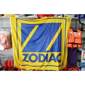 Fahne Flagge Werbebanner für Zodiac Schlauchboote 160 x 180 cm / Einzelstück
