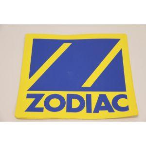 Zodiac Logo Embleme Symbol 18 x 19 cm für PVC Schlauchboote Z60019 / Zodiac