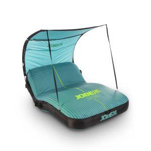 JOBE Laysea 2 Personen Relax Liege schwimmfähige aufblasbare Lounge mit Sonnendach / JOBE