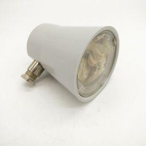 Salingleuchte Deckstrahler Lampe Leuchte 12 Volt max. 25 W Gehäusefarbe grau zur Aufbau Montage / Hellamarine