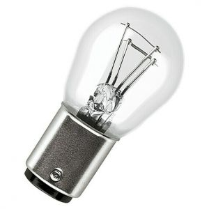 Glühlampe Glühbirne Ersatzlampe 12 Volt 21/5W Leuchtmittel Bremslicht Rücklicht Schlusslicht mit Sockel BAY 15d für Anhänger Caravan und Bootstrailer