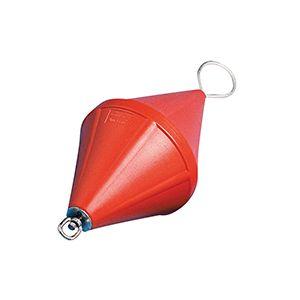 Ankerboje Doppelkegel schaumgefüllt mit feuerverzinkter Stahlhalterung, orange - verschiedene Größen / Lalizas