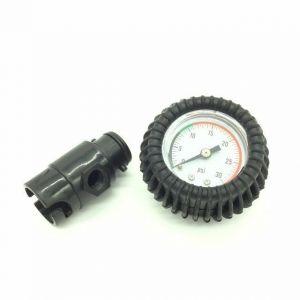 Manometer mit Pumpenadapter Barometer Luftdruck / Bravo