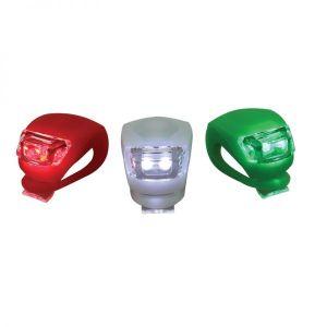 Set Navigationsleuchte LED für Boote Segelboote mit Saugfuß Halterung / Lalizas