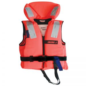 Rettungsweste 50-70 kg Jugendliche/Erwachsene 100N Lifejacket Feststoffweste / Lalizas