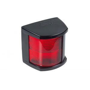 Lichtgehäuse Rot für Backbordlaterne Farbe Schwarz Adapter für Positionslampen 9EL 127 083-031 Modell 2984 / Hellamarine