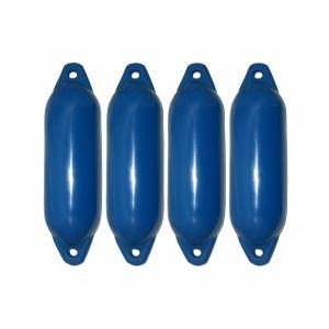Bootsfender Star Langfender Fender blau für Boote / Majoni