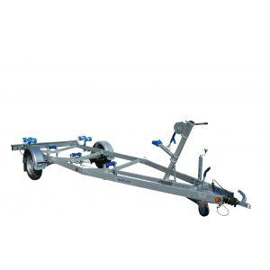 Bootstrailer BT 1000 Kg Bootsanhänger Sliptrailer Slip-Trailer für Motorboot / Marlin