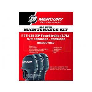 Wartungskit 300 Stunden für 75 - 115 PS Viertakter (1,7 Liter) 8M0097857 / Mercury