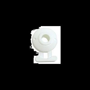 Minax Schnellverschluss Oberteil weiß / Minax