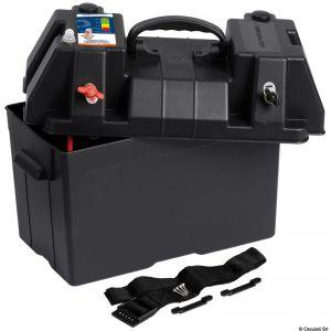 Power Center Deluxe Batteriekasten mit wasserdichter Doppel USB-Buchse für Elektromotoren / Osculati