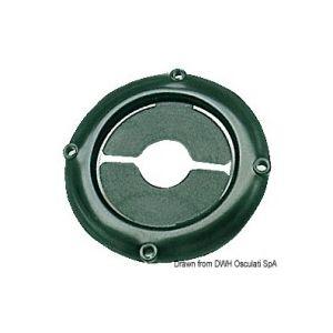 Kabeldurchlassring schwarz / Osculati