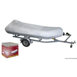 Persenning 230/260 cm, grau für Schlauchboote Osculati