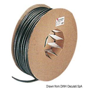 Aufgeblasener Schlauch aus PVC für Stromkabel Schutzschläuche - verschiedene Größen Meterware / Osculati