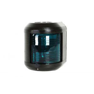 Navigationslicht Steuerbord Grün 12 Volt Serie 41 Gehäusefarbe schwarz Navigationslampe zur Seiten oder Mastmontage / Aqua Signal