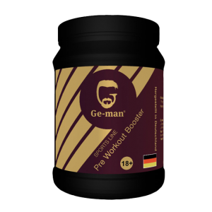 Ge-Man Pre Workout Booster Energiedrink geman Powerdrink