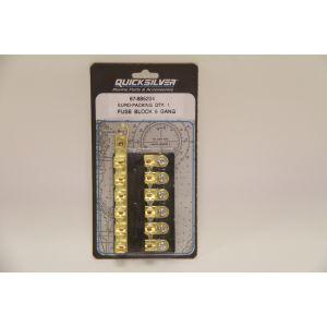 12V Sicherungsblock Fuse Block Sicherungsleiste für 6 Sicherungen / Quicksilver / Mercruiser