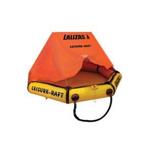 Leisure-Raft Rettungsinsel mit Überdachung 4 Personen / Lalizas